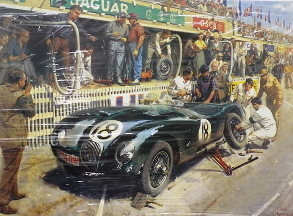 Lot 62 - Terence Cuneo limited edition print