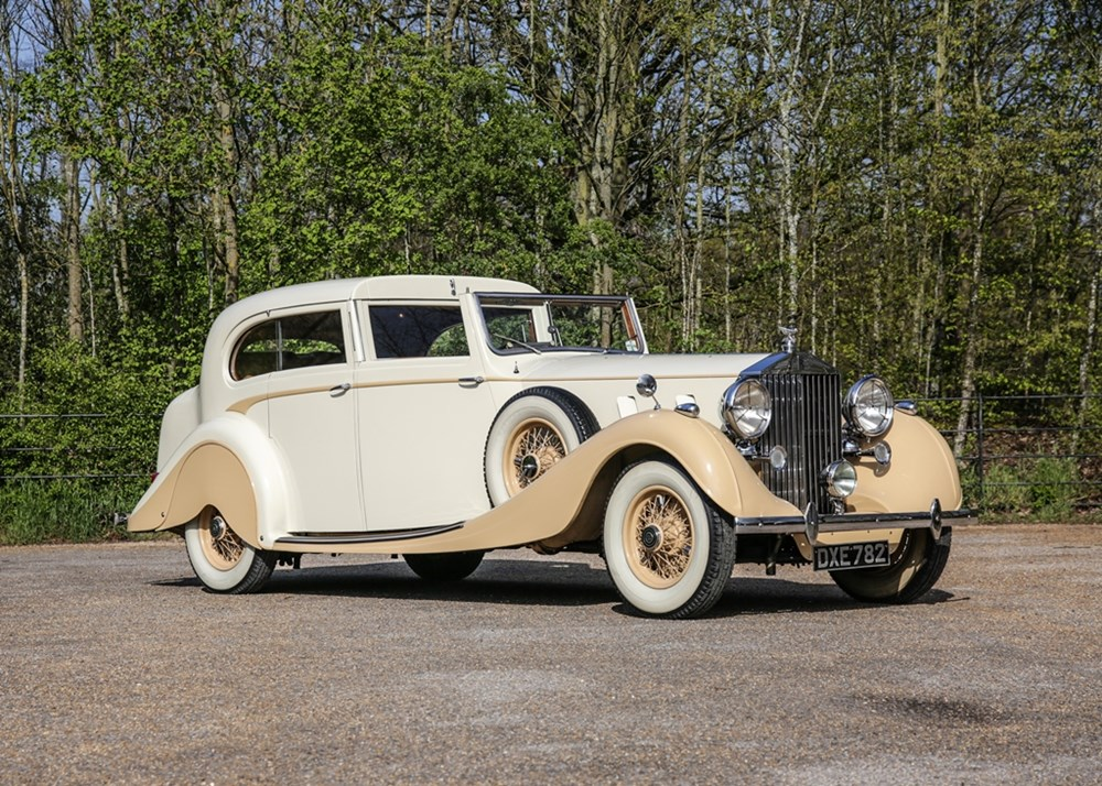 Lot 207 - 1935 Rolls-Royce Phantom III Sedanca de Ville by Gurney Nutting