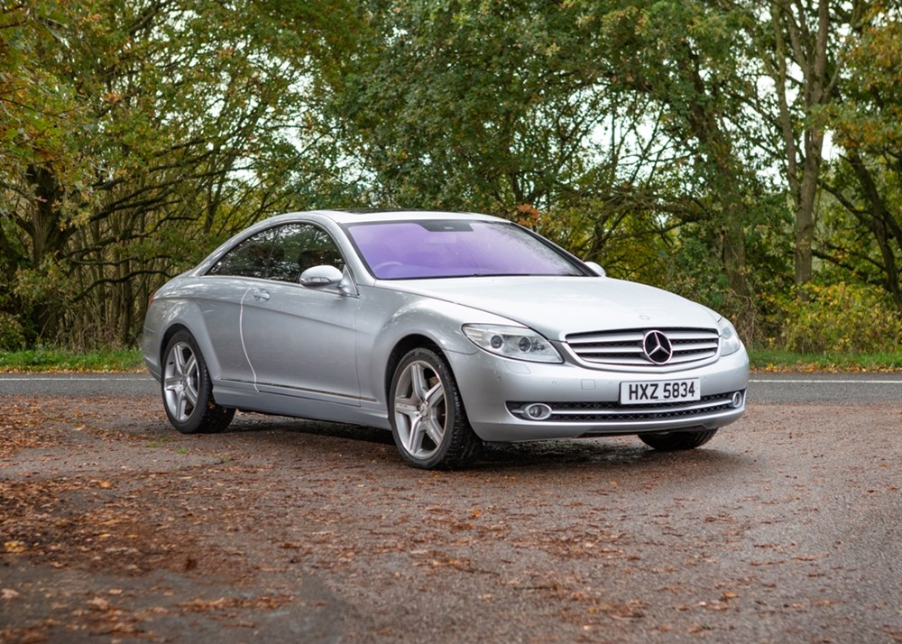 Lot 389 - 2010 Mercedes-Benz CL500