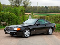 Navigate to Lot 203 - 1993 Mercedes-Benz SL600 Roadster ex Sultan of Brunei
