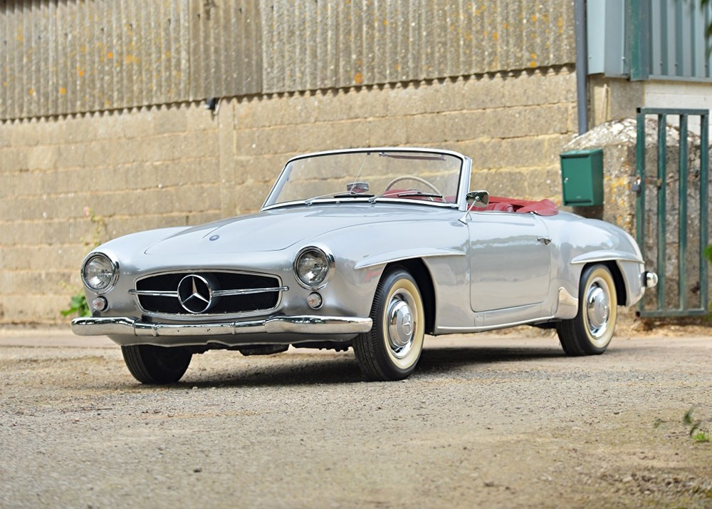 Lot 174 - 1956 Mercedes-Benz 190 SL Roadster