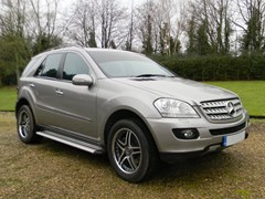 Navigate to Lot 241 - 2007 Mercedes-Benz ML 420 CDi