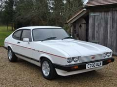 Navigate to Lot 162 - 1986 Ford Capri 2.8i Special