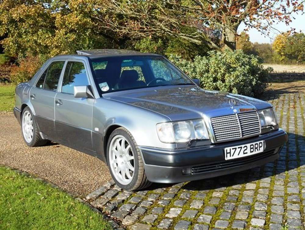 1991 mercedes benz 500e classic sports car auctioneers for Mercedes benz 500 e