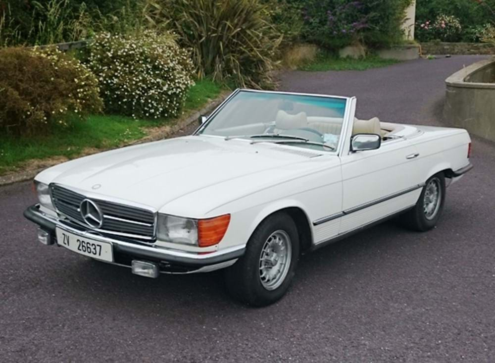Lot 226 - 1977 Mercedes-Benz 450SL Roadster