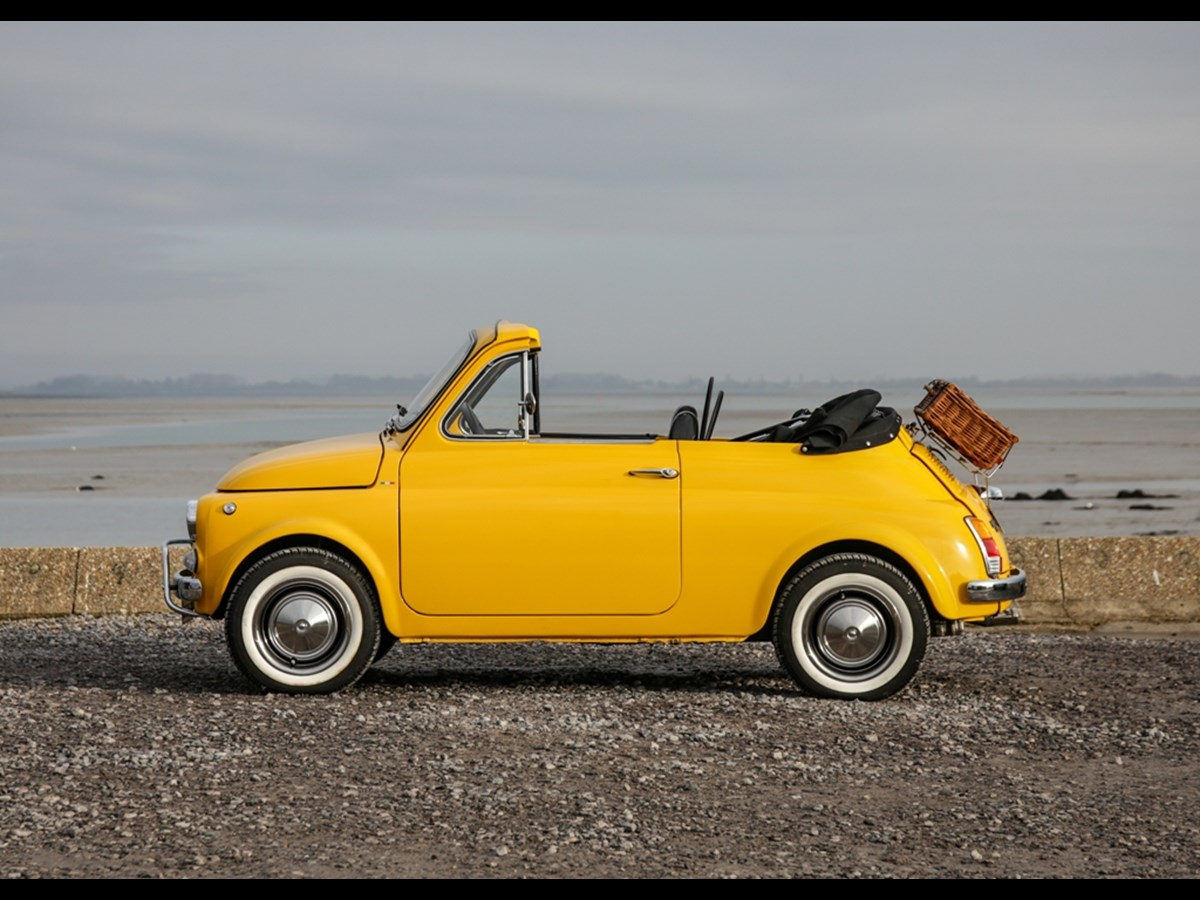 1972 Fiat 500 Cabriolet by Supern