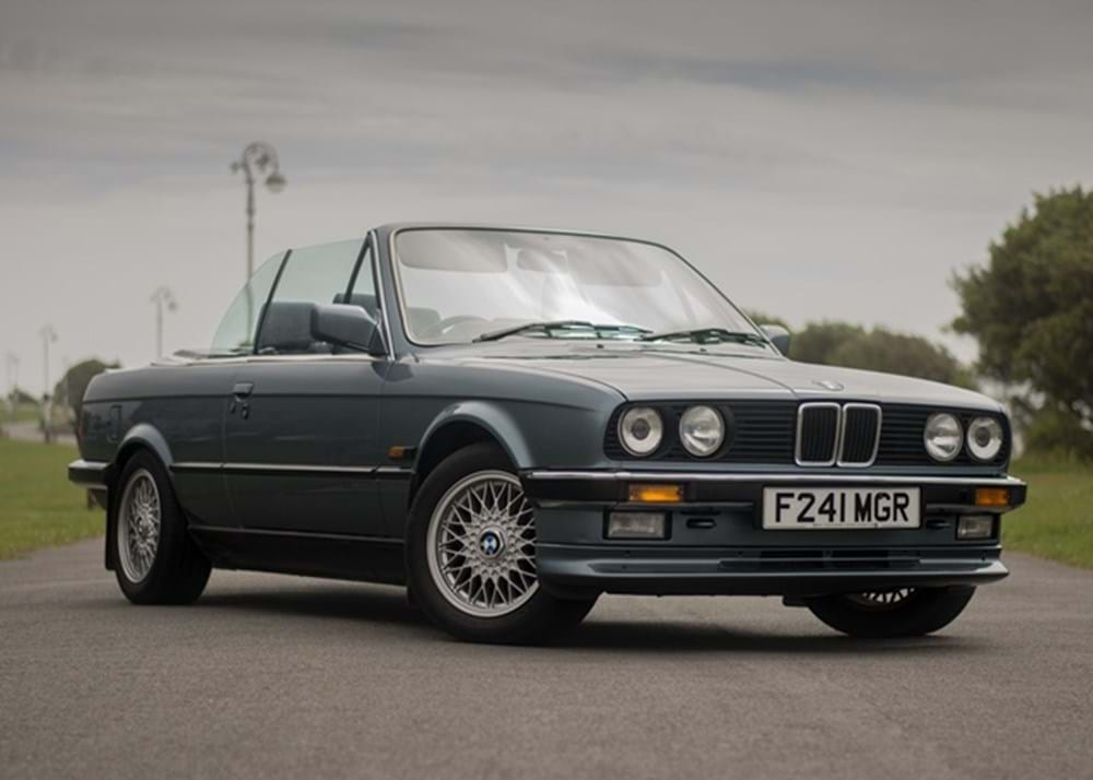 Lot 232 - 1988 BMW  325i Convertible *WITHDRAWN*