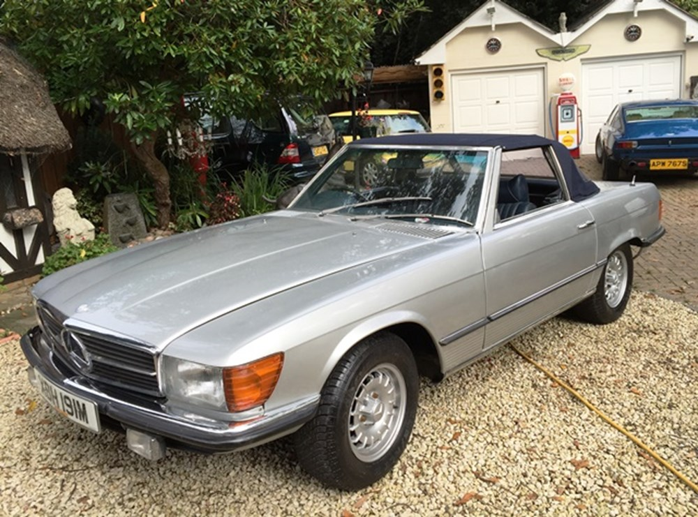 Lot 221 - 1973 Mercedes-Benz 450SL Roadster