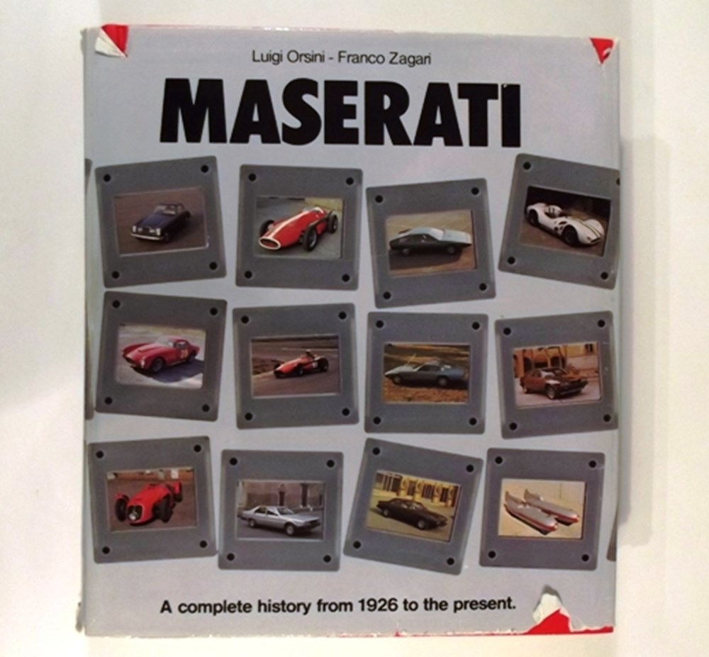 Lot 038 - Maserati The Complete History from 1926