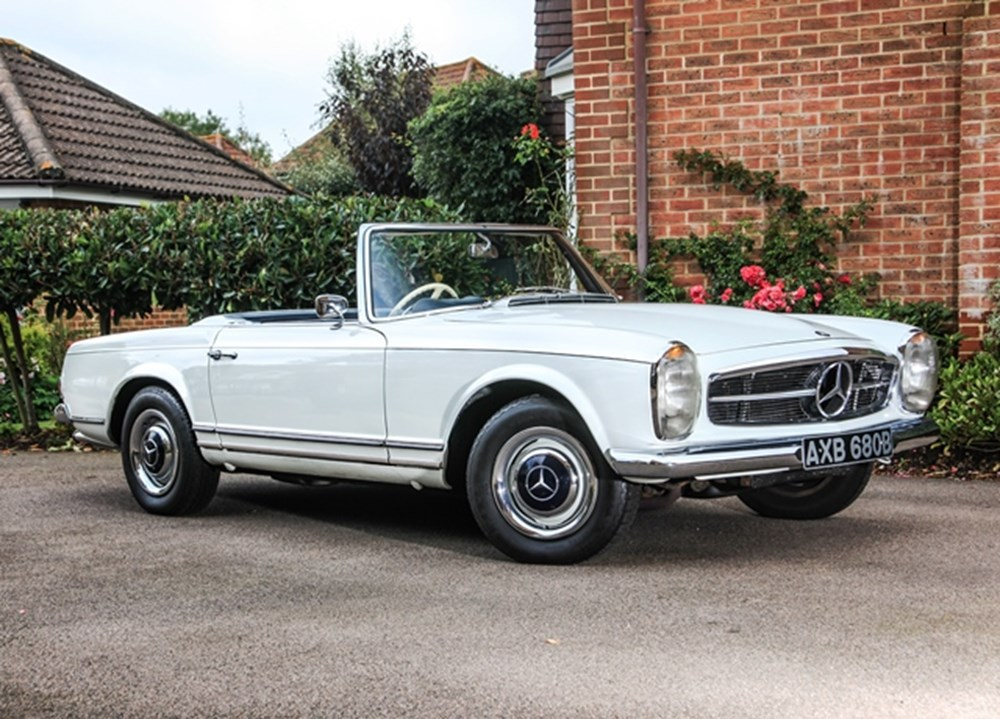Ref 27 1964 mercedes benz 230 sl pagoda for Mercedes benz pagoda