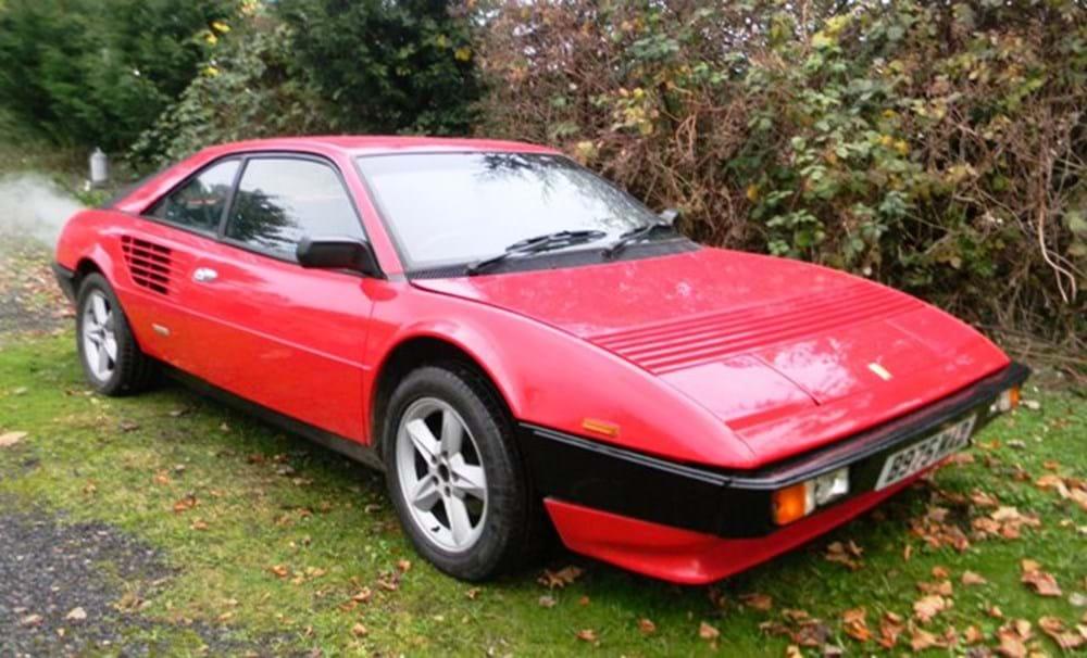 1984 ferrari mondial classic sports car auctioneers. Black Bedroom Furniture Sets. Home Design Ideas