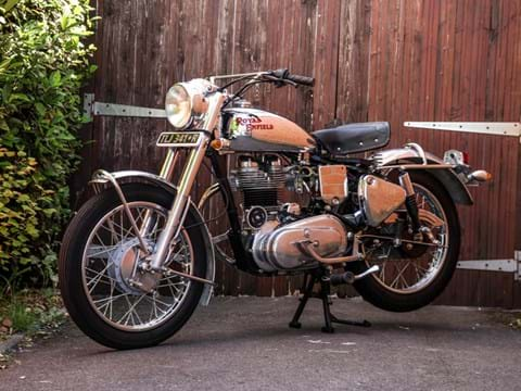 Ref 3 1977 Royal Enfield Silver Bullet (350cc)