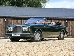 Navigate to Lot 227 - 1990 Bentley Continental Convertible