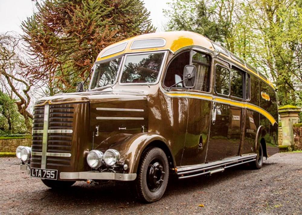 Lot 288 - 1950 Bedford OB Motor Home