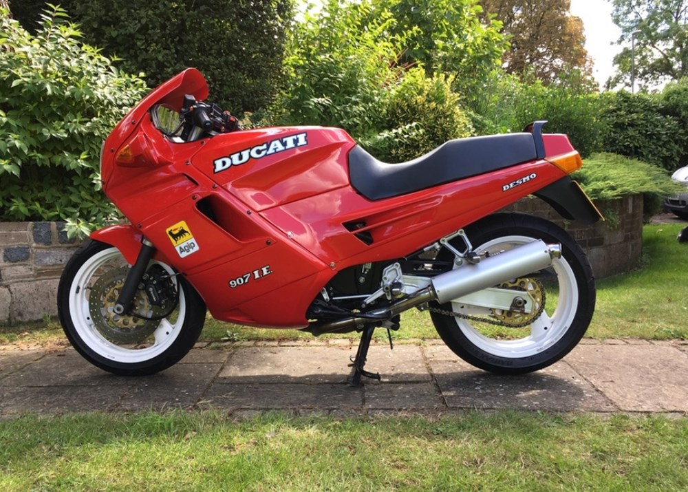 Ref 148 1991 Ducati 907 Ie Classic Sports Car Auctioneers