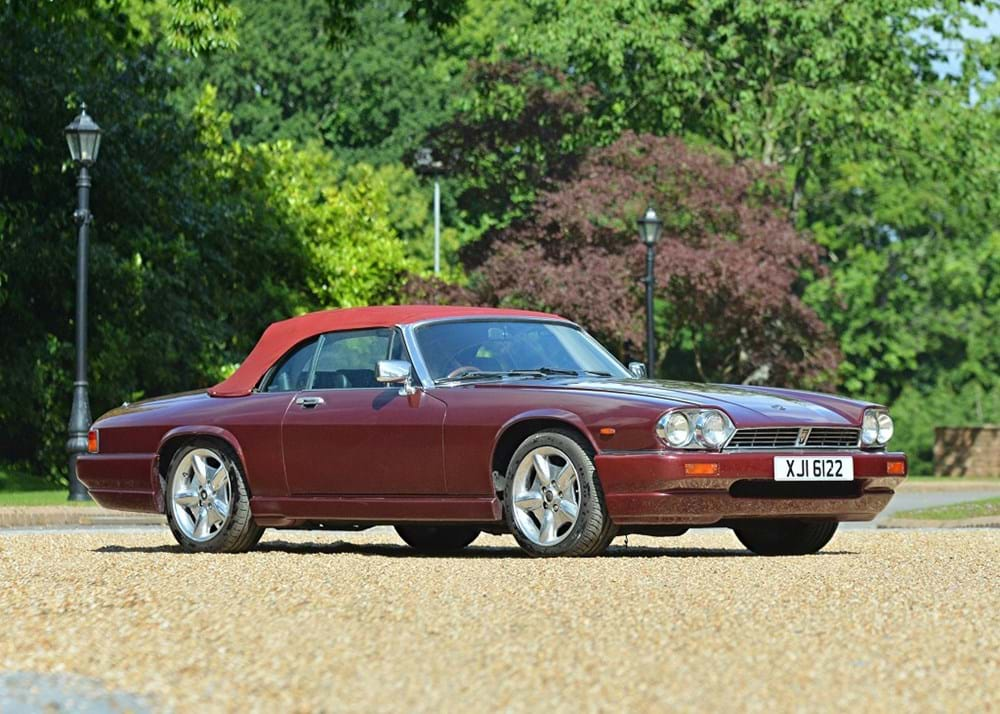 Lot 109 - 1985 Jaguar XJS HE Lynx Convertible