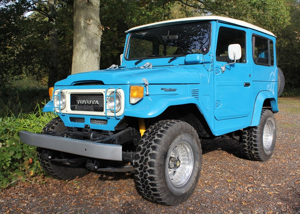Lot 136 - 1984 Toyota Landcruiser BJ40