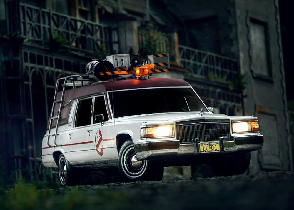 Lot 163 - 1991 Cadillac Fleetwood Ghostbusters Hearse