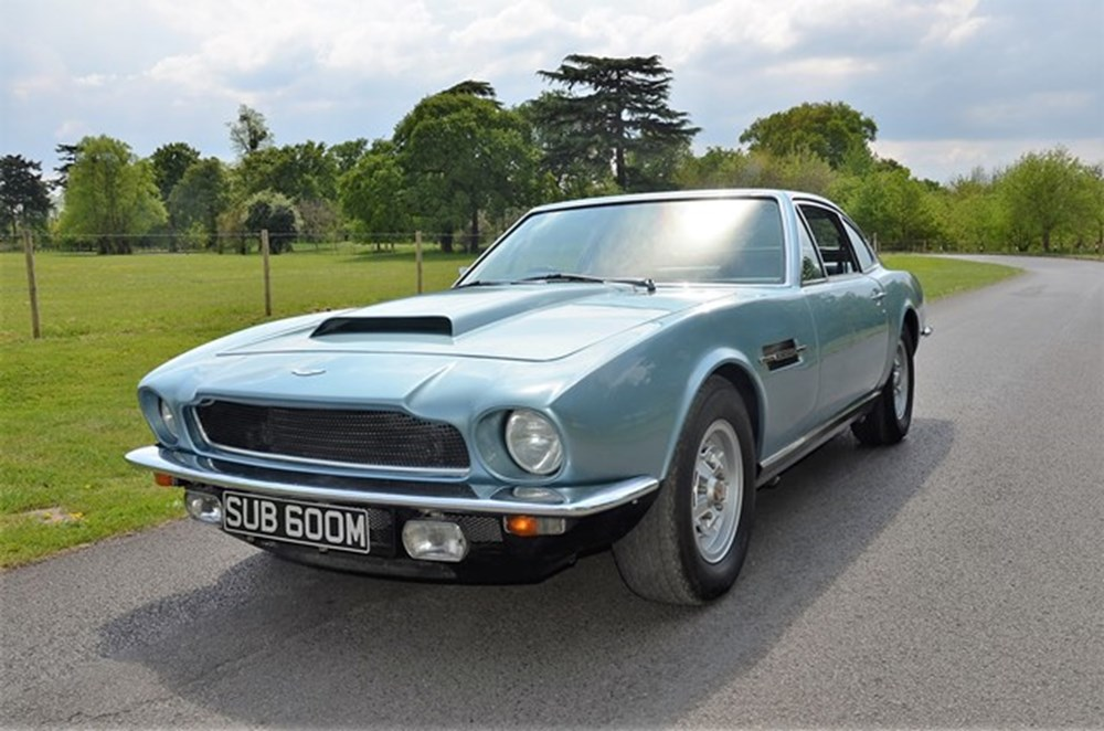 Lot 294 - 1973 Aston Martin V8 Saloon