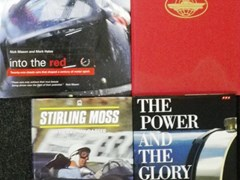 Navigate to Eight motoring books.