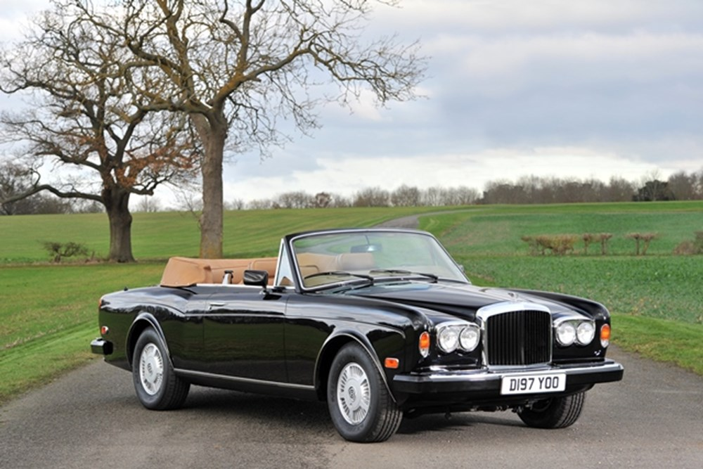 Lot 190 - 1987 Bentley Continental Drophead Coupé by Mulliner Park Ward