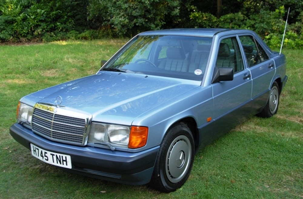 Lot 229 - 1990 Mercedes-Benz 190E Saloon