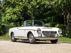 Navigate to Lot 165 - 1962 Fiat 1200 Cabriolet by Pininfarina