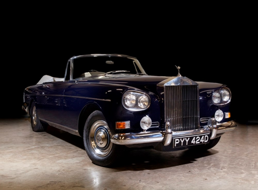 Lot 281 - 1966 Rolls-Royce Silver Cloud III Drophead Coupé by Mulliner Park Ward