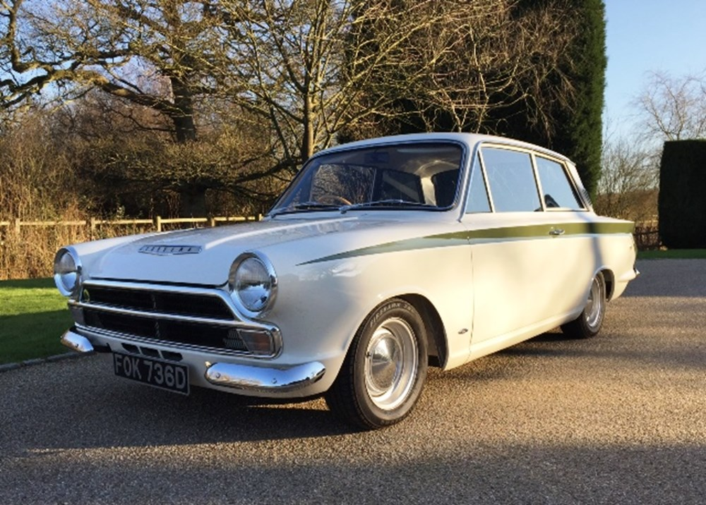 Lot 210 - 1966 Ford Lotus Cortina Mk. I
