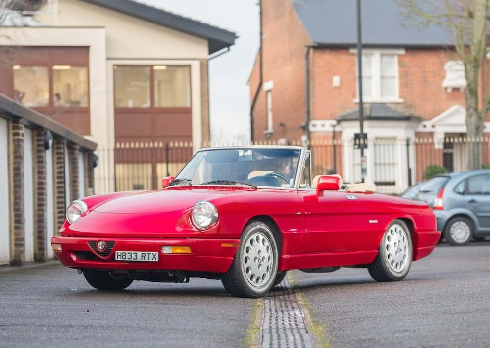 Ref Alfa Romeo S Spider Veloce - 1991 alfa romeo spider for sale