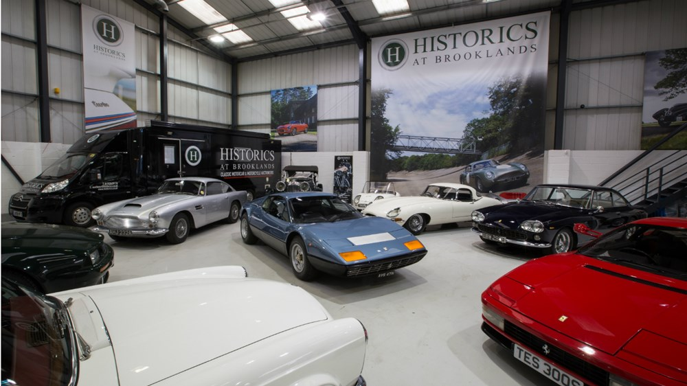 Historics showroom