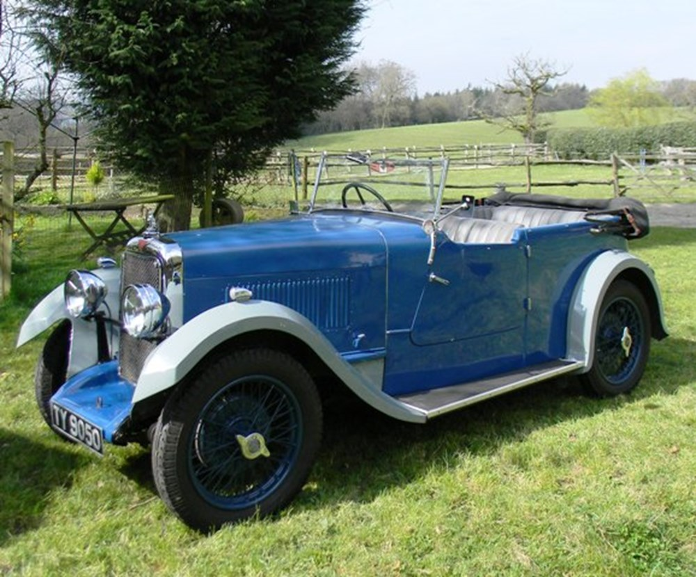 Lot 382 - 1932 Alvis 12/60 Open Tourer