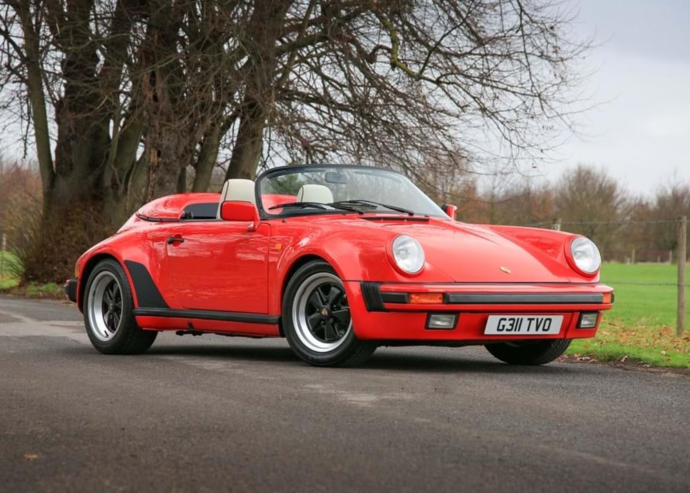Ref 9 1989 Porsche 911 930 Turbo Body Speedster