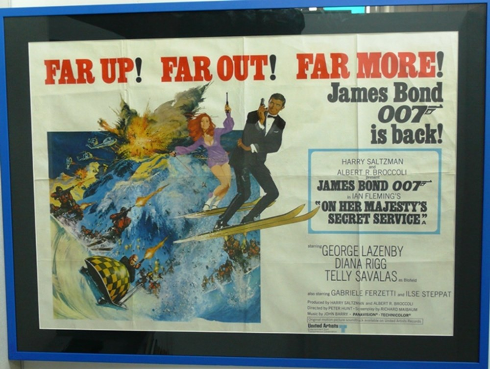 Lot 087 - James Bond film poster