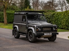Navigate to Lot 111 - 2011 Land Rover Defender 90 Hardtop