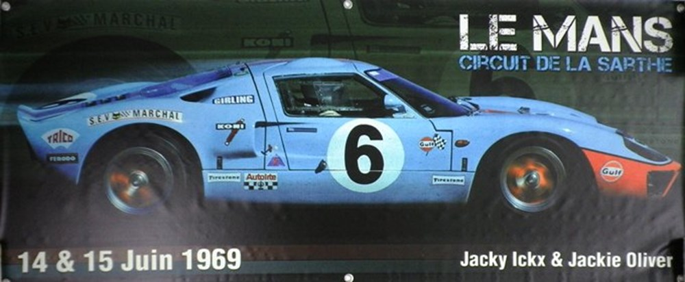 Lot 89 - Gulf Ford GT40