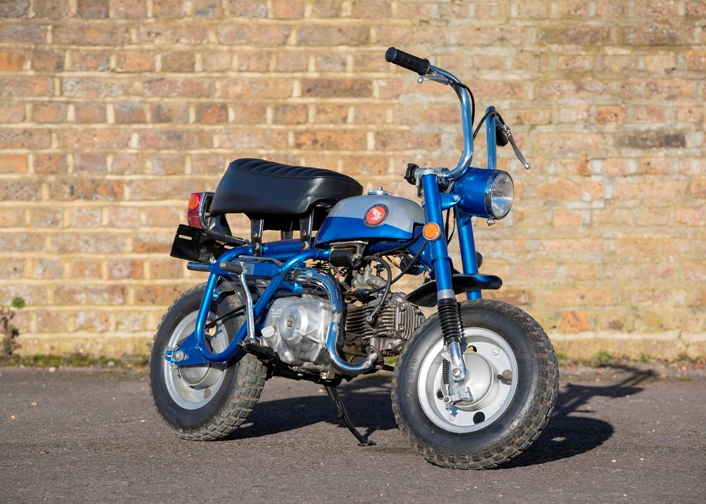 Lot 206 - 1969 Honda Z50A K1 Short Tail Monkey Bike