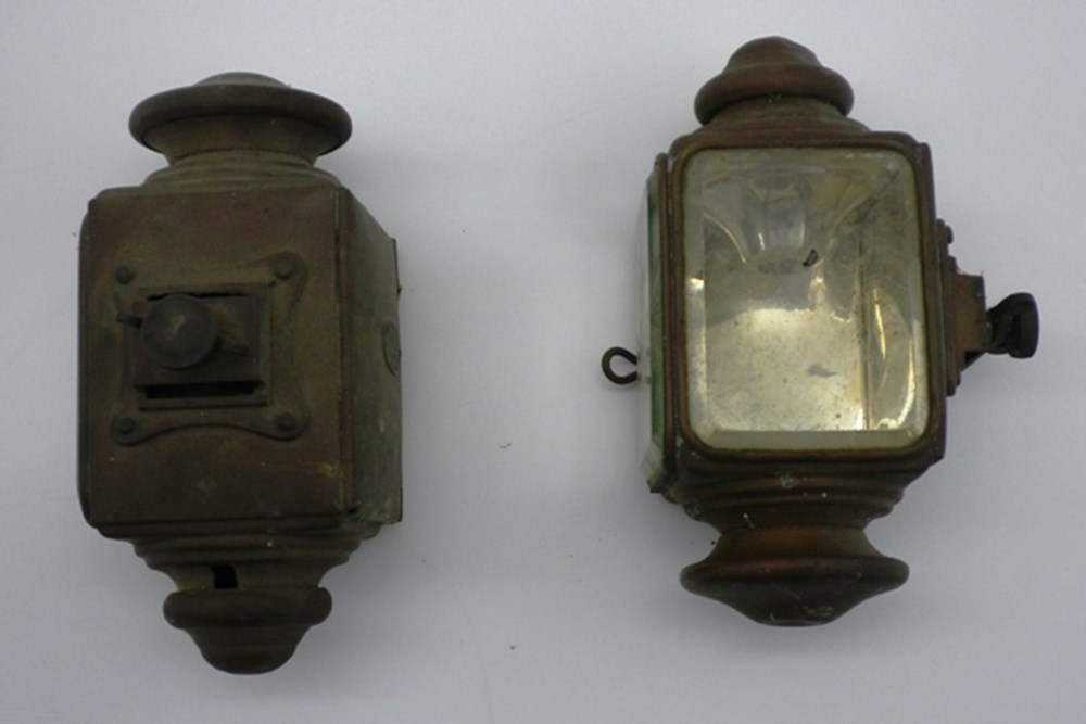 Lot 11 - electric side lamps