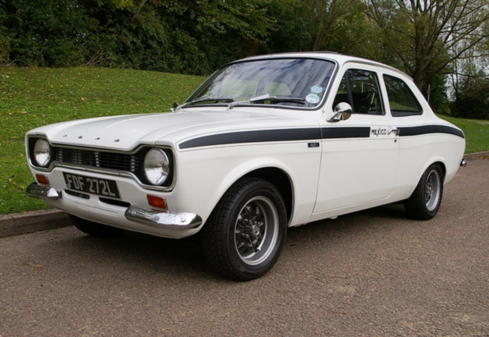 Lot 242 - 1973 Ford Escort Mexico