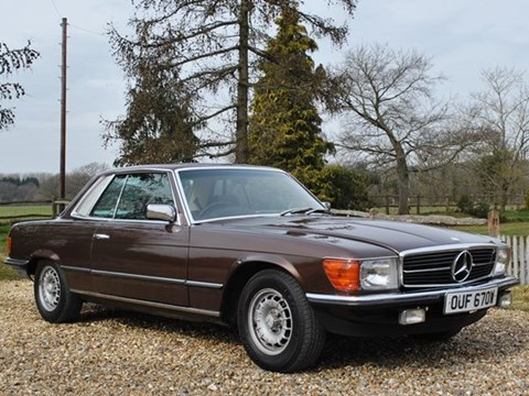 REF 153 1981 Mercedes-Benz 280SLC