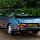Ref 102 1993 Saab 900 S Turbo T7 Abbotts Racing Convertible -