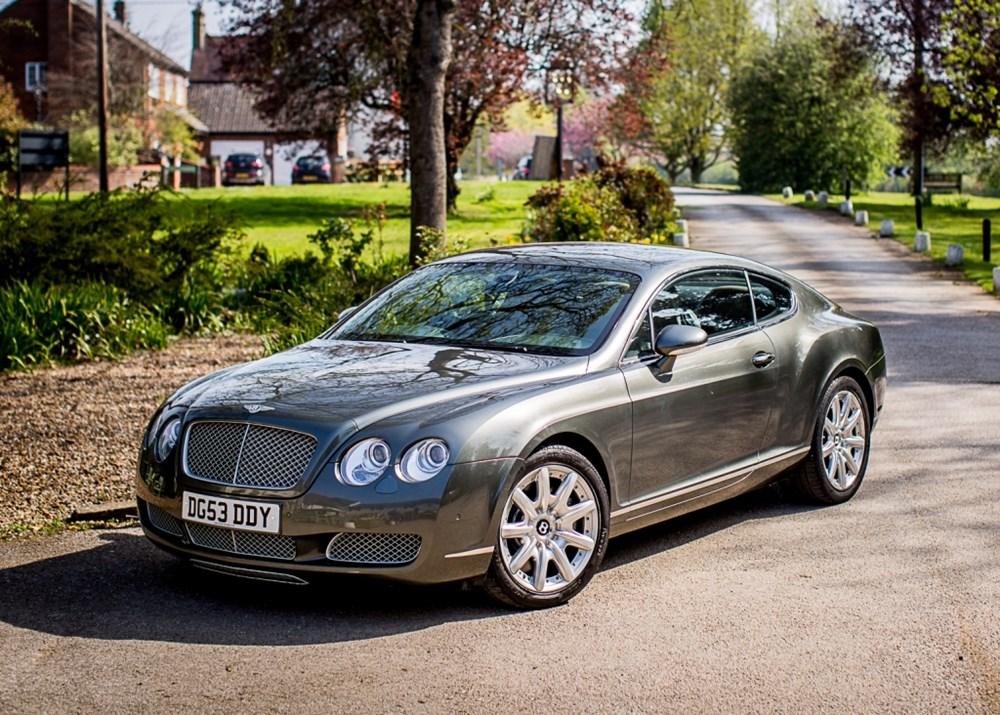 Lot 193 - 2003 Bentley Continental GT