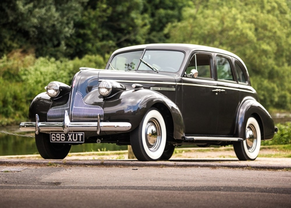Lot 130 - 1939 Buick Straight-8 'Fireball' Special Sedan