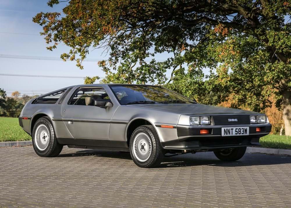 ref 79 1981 delorean dmc 12 classic sports car auctioneers. Black Bedroom Furniture Sets. Home Design Ideas