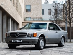 Navigate to Lot 357 - 1990 Mercedes-Benz 560 SEC