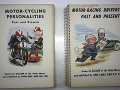 Navigate to Two early motor sport books