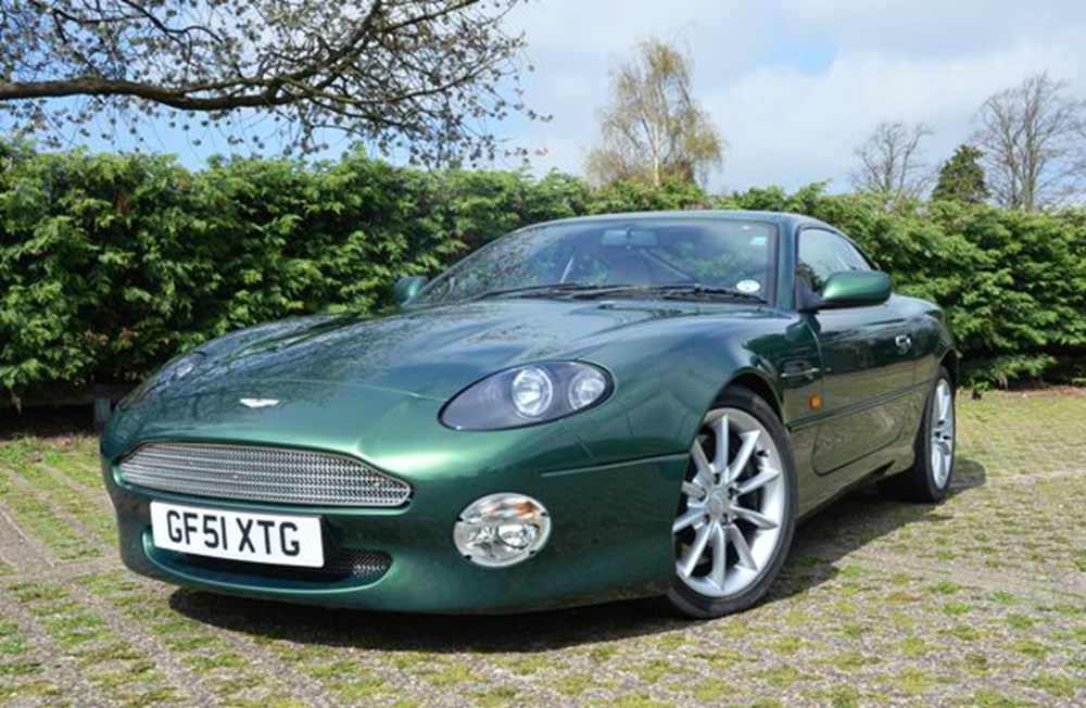 Lot 146 - 2001 Aston Martin DB7 Vantage