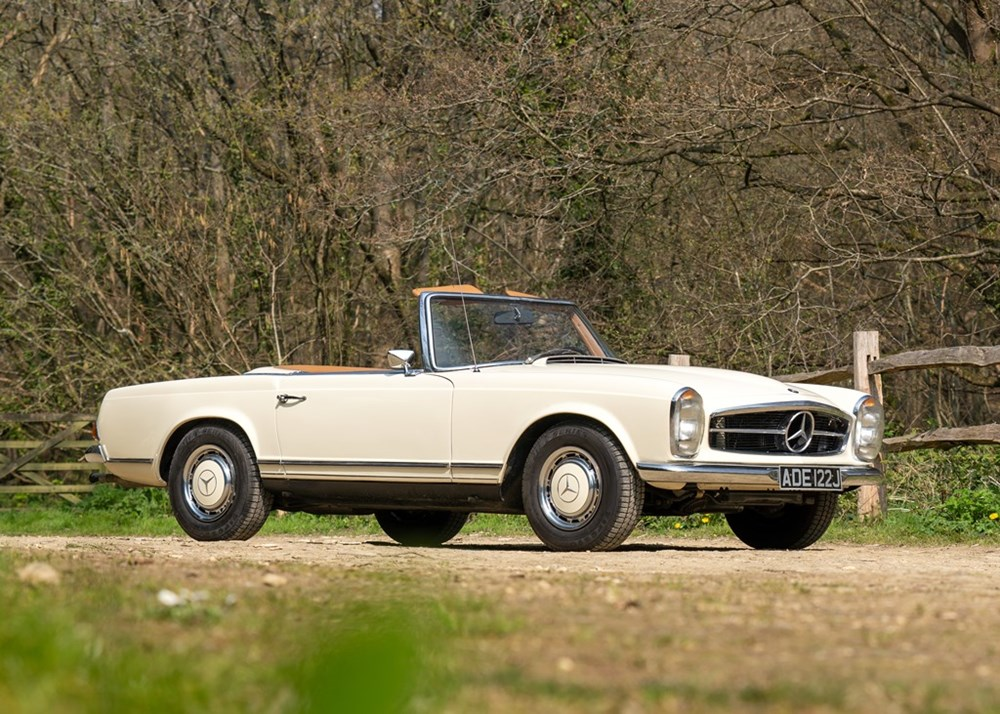 Lot 161 - 1970 Mercedes-Benz 280 SL Pagoda