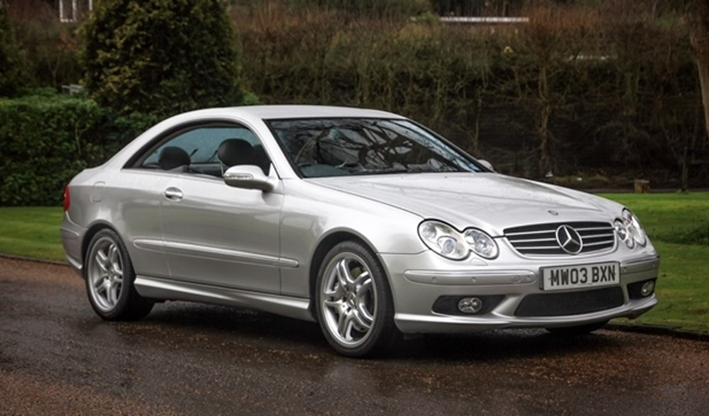 Lot 132 - 2003 Mercedes-Benz CLK 55 AMG