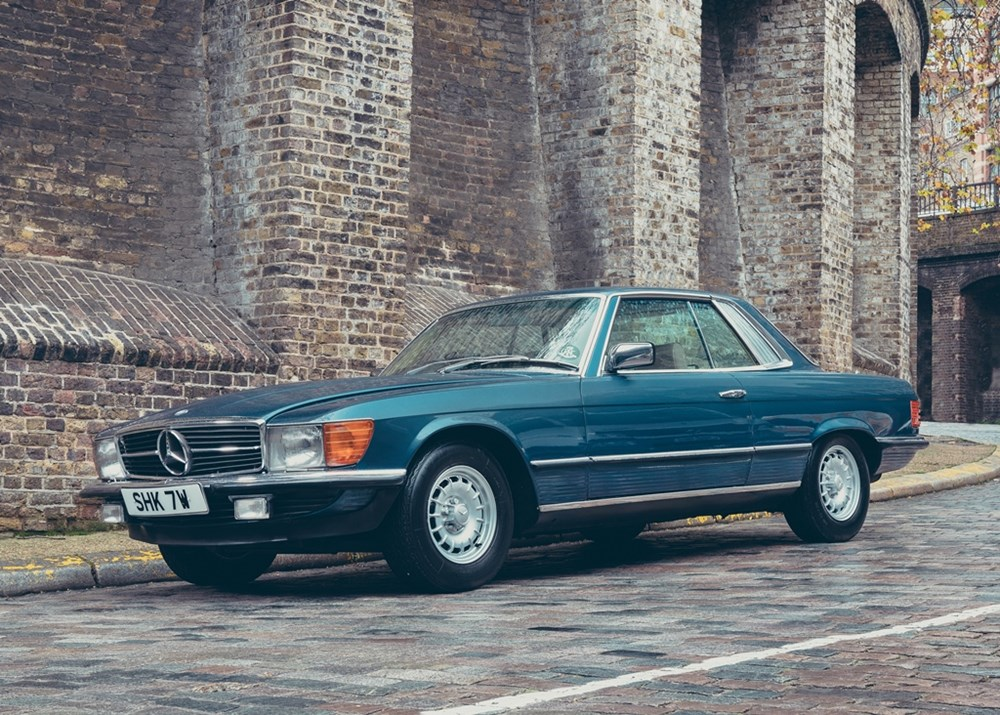 Lot 122 - 1980 Mercedes-Benz 450 SLC